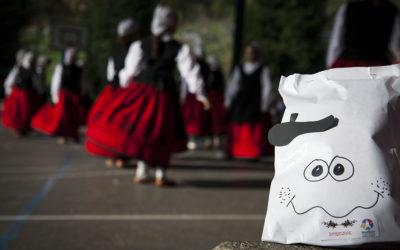 Olentzero egunean, dantzarientzako hamaiketako osasuntsua